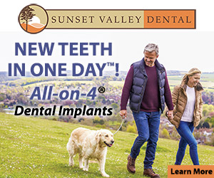SUNSET VALLEY DENTAL - New teeth in one day! All-on-4 Dental Implants. Learn More